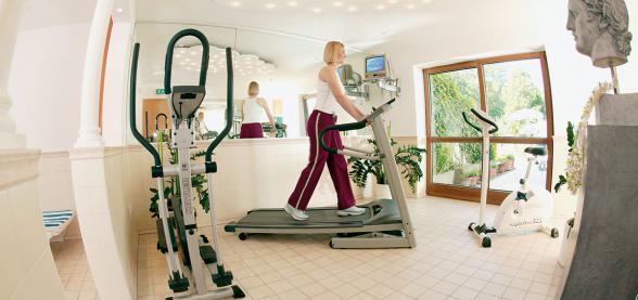 Fitnessraum im Hotel Zettler