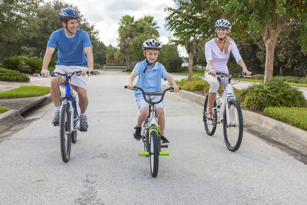 Auch mit Kindern kein Problem - Der Donauradweg bei Günzburg