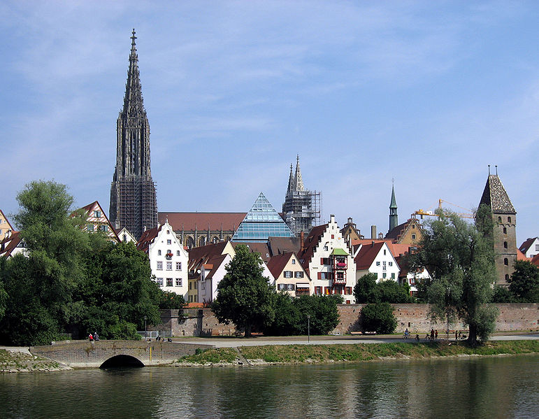Donauradweg bei Ulm
