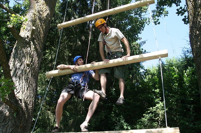Teamevent Waldseilgarten