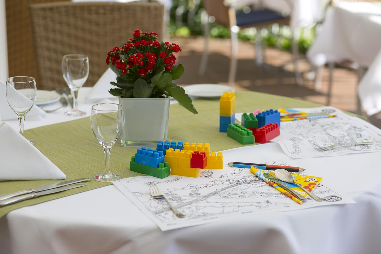 Kindertisch im Hotel Zettler
