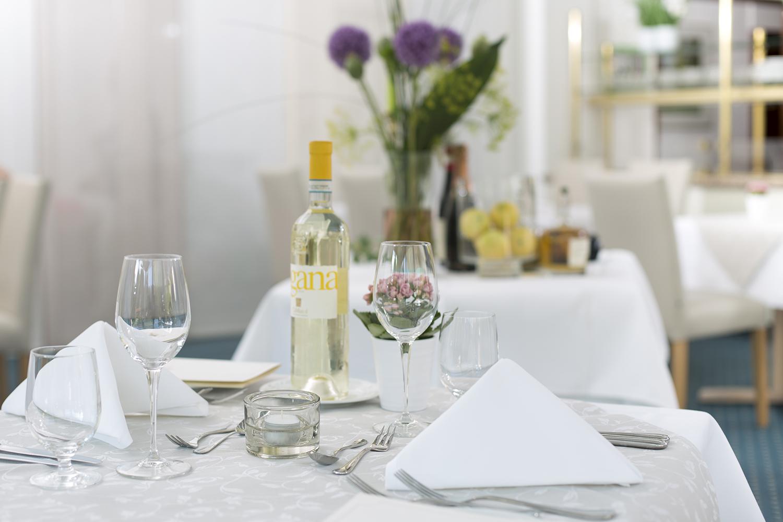 Dinner-Arrangement im Hotel Zettler