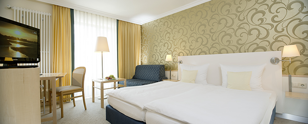 Doppelzimmer 2 im Hotel Zettler